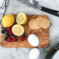 Berry Tart with Lemon Cookie Crust