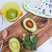 Broccoli and Avocado Baby Food